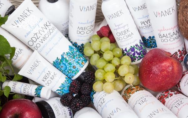 Lista wegańskich kosmetyków VIANEK